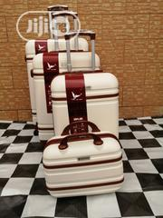 4 Sets Trolley Luggage Bags For Boarding School Students (Cream Color)   Babies & Kids Accessories for sale in Lagos State, Ikeja