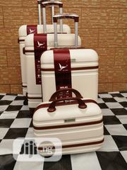 Travelling Bags For Boarding School Students (4 Sets) Cream Color   Babies & Kids Accessories for sale in Lagos State, Ikeja