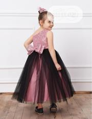 Turkey Floor Length Girls Gown - Pink | Children's Clothing for sale in Lagos State, Isolo