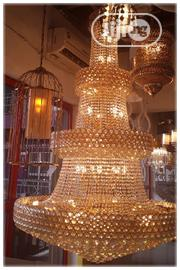 Christal Gold Chandelier by 12000 Size | Home Accessories for sale in Lagos State, Ojo