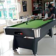 Brand New Standard 8ft Snooker Pool Table With the Acessories | Sports Equipment for sale in Abuja (FCT) State, Central Business District
