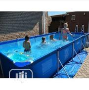 Intex 15ft Long By 7ft Wide Metal Frame Pool(30inchies Deep) | Sports Equipment for sale in Abuja (FCT) State, Central Business District