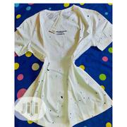 A Round Neck Spotted White | Clothing for sale in Rivers State, Port-Harcourt