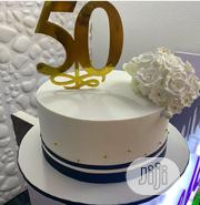 50th Birthday Cake | Party, Catering & Event Services for sale in Lagos State, Agboyi/Ketu