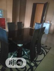 Black Glass Dinning Table | Furniture for sale in Anambra State, Awka