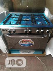 Japanese Akai 5burners Cooker, Oven and Grill With 2yrs Wrnty. | Kitchen Appliances for sale in Lagos State, Ojo