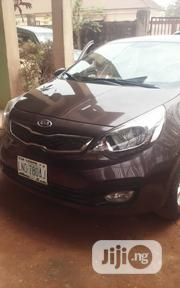 Kia Rio 2012 Brown | Cars for sale in Lagos State, Surulere