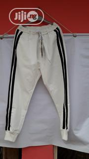 White Tracks Joggers - Offwhite | Clothing for sale in Lagos State, Ikotun/Igando
