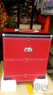 Makeup Trolley Box - Red | Tools & Accessories for sale in Lagos State, Ikeja