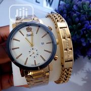 Piaget Gold Wristwatch X Bracelet Combo | Jewelry for sale in Lagos State, Ojo