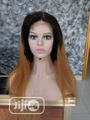 Two Toned Straight Human Hair Wig With Full Closure | Hair Beauty for sale in Lagos State, Ikeja