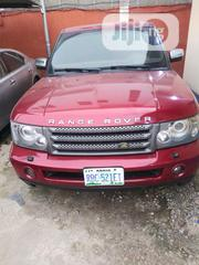 Land Rover Range Rover Sport 2008 4.2 V8 SC Red   Cars for sale in Lagos State