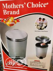 20 Litre Stainless Steel Pedal Waste Bin   Home Accessories for sale in Lagos State, Ipaja