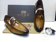 Anax l'Talia Designers Men Leather Shoes | Shoes for sale in Lagos State, Yaba