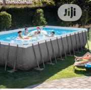"Intex 24' X 12' X 52"" Rectangular Ultra XTR Frame Swimming Pool 