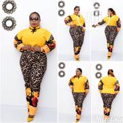 Top and Trouser Set Animal Skin Print | Clothing for sale in Lagos State, Lagos Island