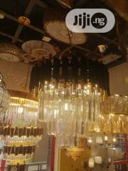 Christal Gold Chandelier | Home Accessories for sale in Lagos State, Lekki Phase 1
