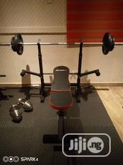 Weight Bench With 50kg Dumbell | Sports Equipment for sale in Lagos State, Surulere