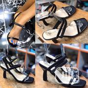 New Female Quality Black Sandals | Shoes for sale in Lagos State, Ikeja