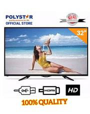 Polystar 32-inch HD LED Television PV-JP32D1100- Black | TV & DVD Equipment for sale in Lagos State, Amuwo-Odofin