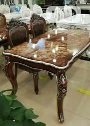 Dining Table by 6 ( Wood) | Furniture for sale in Lagos State, Ajah
