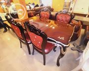 Wooden Dinning Table by 6 Seaters | Furniture for sale in Lagos State, Lekki Phase 2