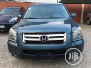 Honda Pilot 2006 EX-L 4x2 (3.5L 6cyl 5A) Blue | Cars for sale in Lagos State, Ikeja