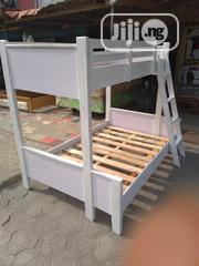 4ft Down 3ft Up. Wooden Bunk Bed | Furniture for sale in Lagos State, Ojo