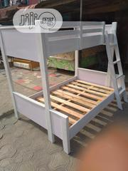 4ft Down 3ft Up. High Quality Wooden Bunk Bedframe | Furniture for sale in Lagos State, Ojo