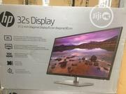 Hp 32s Display Monitor | Computer Monitors for sale in Lagos State, Ikeja