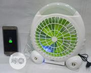 3 in 1 Portable Rechargeable Fan With Led Light and Power Bank | Home Appliances for sale in Lagos State, Ojodu