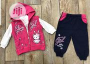 Baby's 3pcs Set 9-24mnths(Jacket, Top,Trouser)   Children's Clothing for sale in Enugu State, Enugu