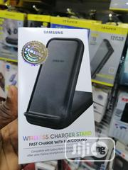 Samsung Wireless Charger Stand With Cooling Fan 15W | Accessories for Mobile Phones & Tablets for sale in Lagos State, Ikeja