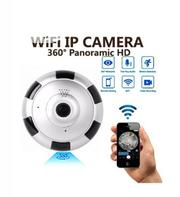 Mini UFO 360° Panorama View IP Security Wifi CCTV Camera | Security & Surveillance for sale in Lagos State, Ikeja
