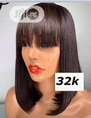 Double Drawn Fringe Wig | Hair Beauty for sale in Lagos State, Ikeja
