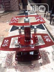 A Set Of Center Table With Two Sides Stools | Furniture for sale in Lagos State, Lagos Island