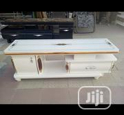 Original Quality Stylish Marble Top TV Stand Beautiful And Unique | Furniture for sale in Lagos State, Magodo