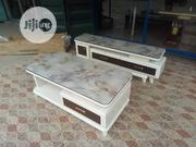 Original Quality Marble Top TV Stand With Center Table, | Furniture for sale in Lagos State, Magodo