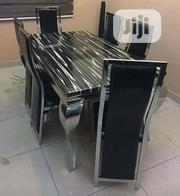 Marble Dining Table by 6 | Furniture for sale in Lagos State, Amuwo-Odofin