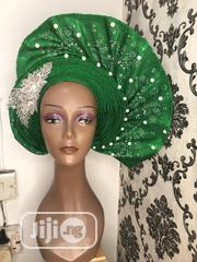 Green Curvy Gele | Clothing for sale in Lagos State, Ikeja