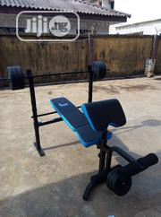 Weigh Bench With 50kg Weights | Sports Equipment for sale in Abuja (FCT) State, Utako