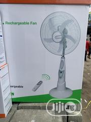 Lontor Rechargeable Fan With Remote+Usb Port/5blades   Home Appliances for sale in Lagos State, Lagos Island