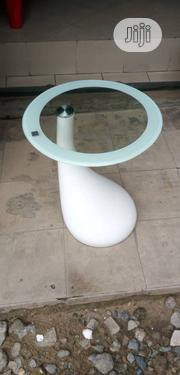 Fibre And Glass Center Table With Two Side Stool | Furniture for sale in Lagos State, Ikeja