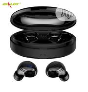 TWS Wireless Bluetooth Earbuds With Portable Charging Box | Headphones for sale in Lagos State, Ikeja