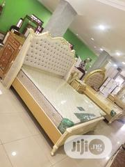 7 By 7 Bed With Cheers Of Drawer And Mattrass | Furniture for sale in Lagos State, Lekki Phase 1