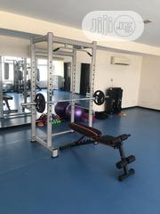 Squat Rack With Adjustable Bench   Sports Equipment for sale in Lagos State, Maryland