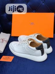 Hermes White Sneakers for Men | Shoes for sale in Lagos State