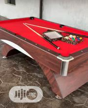 Curved 7feet Snooker Board With Complete Accessories | Sports Equipment for sale in Abuja (FCT) State, Idu Industrial