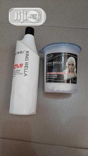 King Wella Powder And Developer | Hair Beauty for sale in Lagos State, Ojo