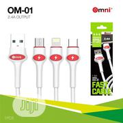 Omni Fast High Quality USB Cable | Accessories for Mobile Phones & Tablets for sale in Lagos State, Ojo